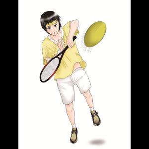 部活、テニス部、学校生活