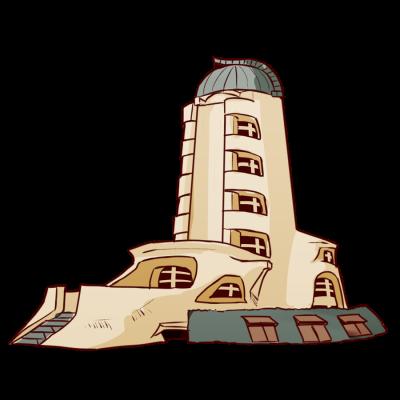 ドイツの建築家エーリヒ・メンデルゾーンの太陽観測所