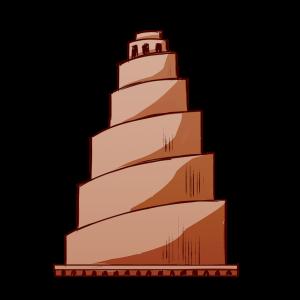 アッバース朝第8代カリフ、ムウタスィム。大モスクに付随して建てられた。