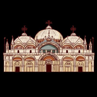 イタリアの大聖堂。世界遺産。