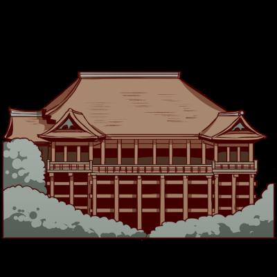 日本、京都にある世界遺産。