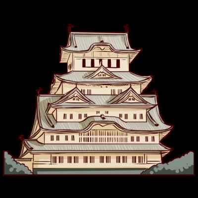 日本の国本、兵庫県の姫路市の城。世界遺産。