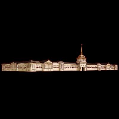 ロシア、サンクトペテルブルクにある建物。