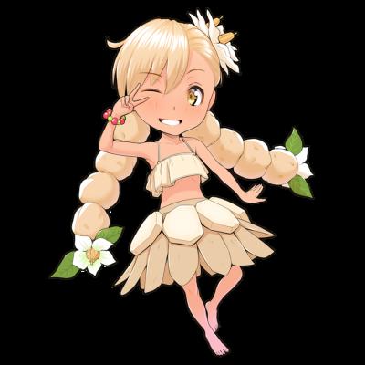 ジャガイモを擬人化したキャラクター素材