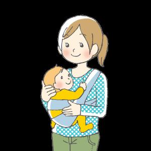 赤ちゃん、育児、ママ、抱っこひも