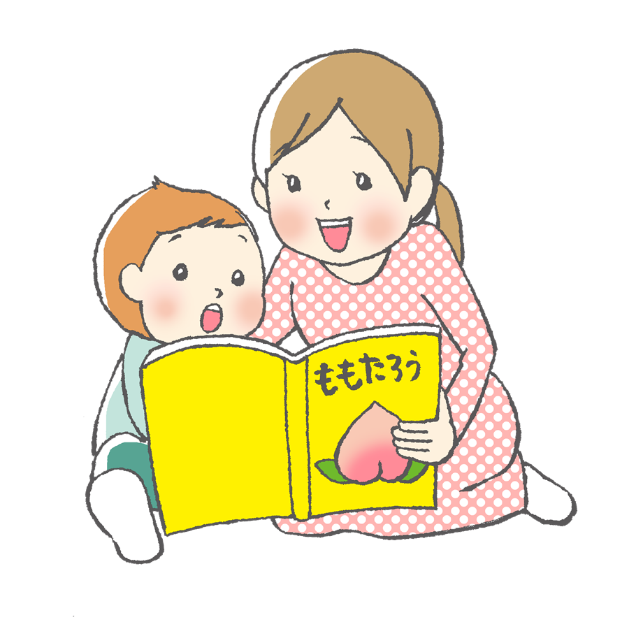 幼児、育児、ママ