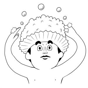 生活、風呂、泡