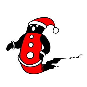 クリスマス、サンタクロース、イベント、社会