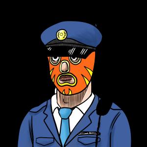 マスク、警察、コロナ