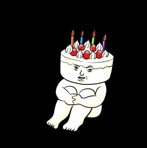 誕生日、ケーキ、記念