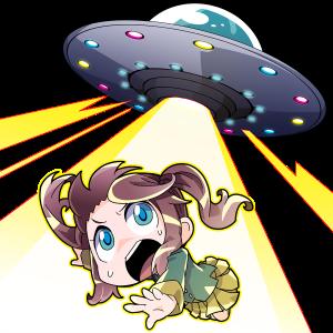 SF、UFOにさらわれる人