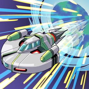 SF、宇宙船のワープ航法