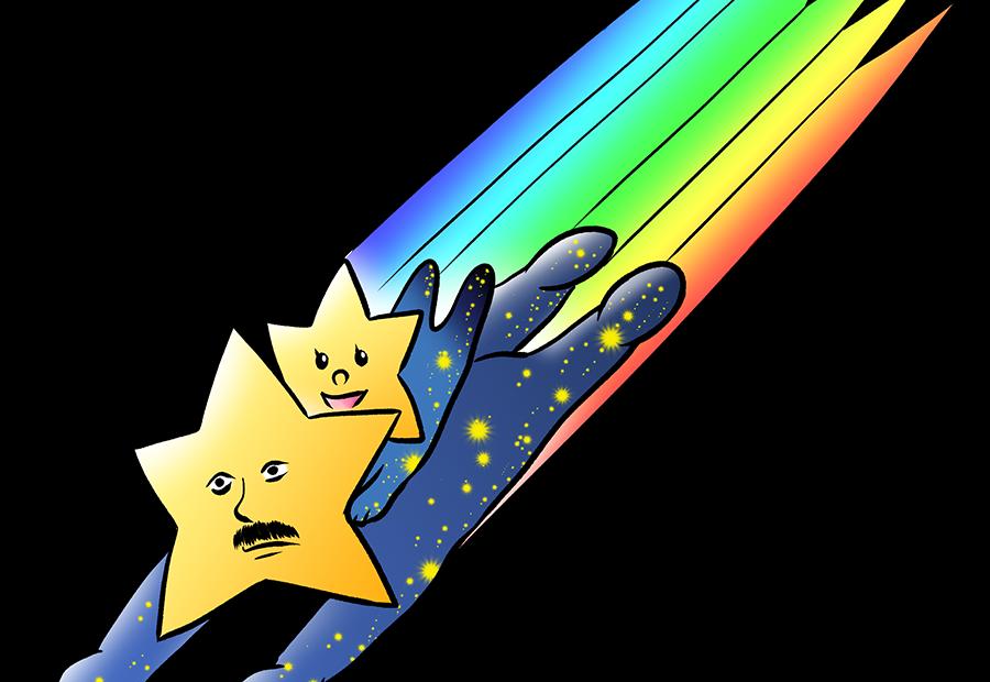 星、親子、ファンタジー